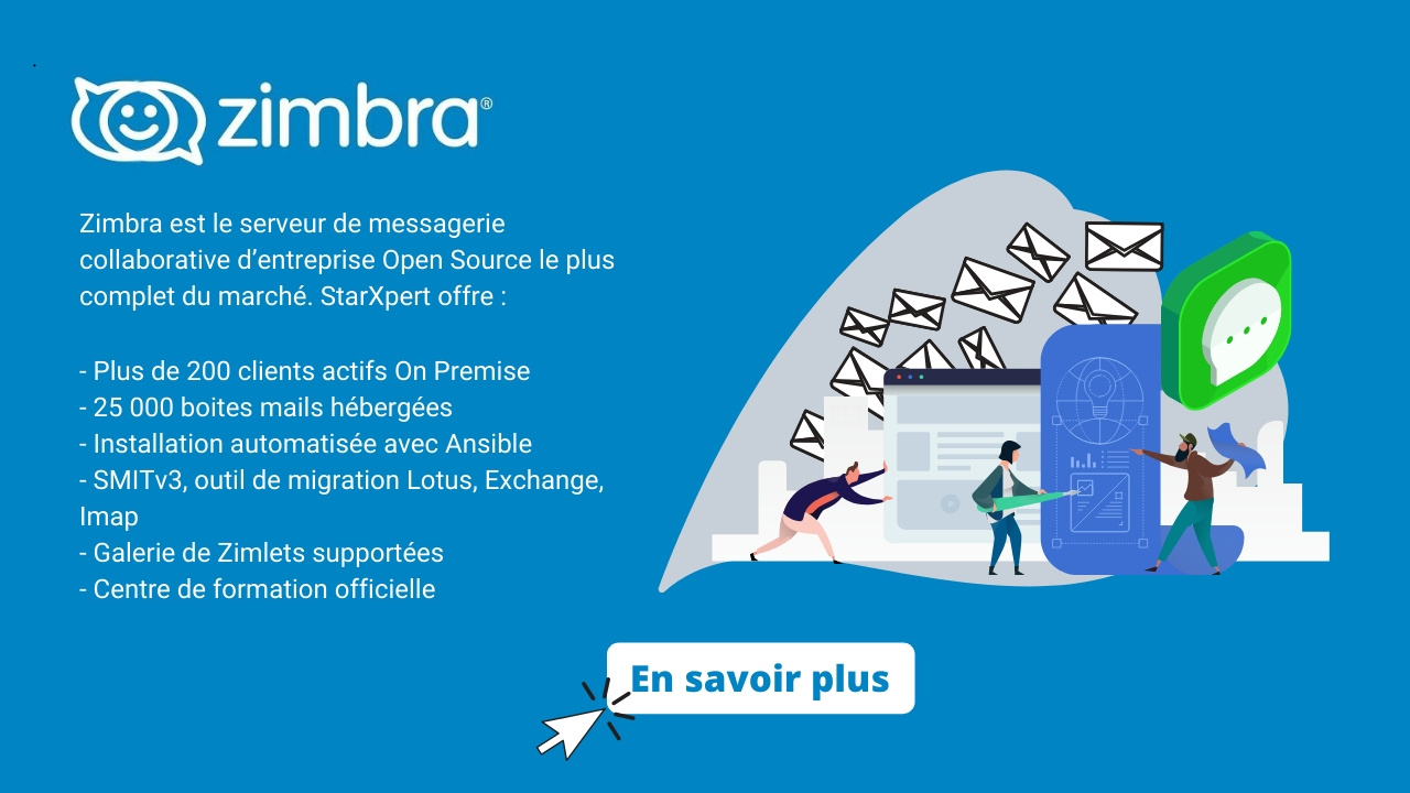 Zimbra : la messagerie collaborative Open Source